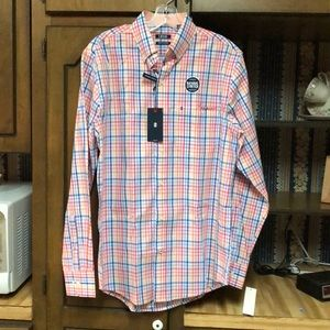 NWT - IZOD LS Colorful Button Down Shirt